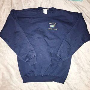 Weavers Funny Graphic Crewneck Sweatshirt